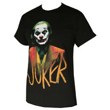 Joker Happy Face Men's T-Shirts Black
