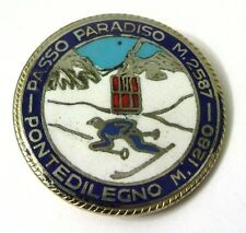 Spilla Passo Paradiso M.2587 Ponte Di Legno M.1280