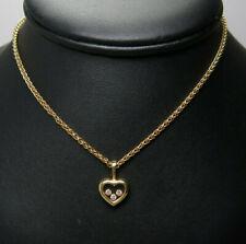 Chopard Happy Diamonds Kette - 750/-er Gelbgold - Diamanten ca.0.15ct.