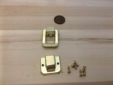 1 Piece Gold style hasp small box hardware lock latch latches catches C23
