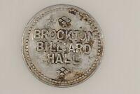 Brockton Billiard Hall  Montana  5¢ TRADE TOKEN  Roosevelt County