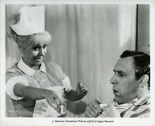 Carry on Doctor Barbara Windsor as Nurse Julian Orchard Original 8x10 Photo