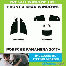 Pre Cut Window Tint - Porsche Panamera 2017 Full Kit
