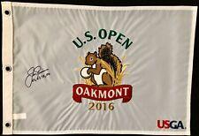 Jack Nicklaus Signed Oakmont US Open Championship Golf Flag Autograph Masters