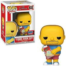 The Simpsons Funko Pop 832 Comic Book Guy 9 Cm 2020 Fall Convention Limited Ed