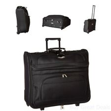 Garment Bag With Wheels Wheeled Carry On For Men Rolling For Travel Suits Handle