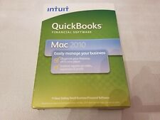 Brand New Intuit QuickBooks 2010 - Full Retail Version for Mac