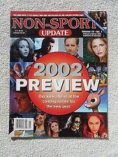 Mar/Feb 2002 Non-Sport Update Magazine Preview Cover Vol. 13 #1 VF-