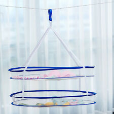 Drying Net Plant Hanging Clothes 2 Tier Shelf Dry Rack Hydroponics Grow 60cm