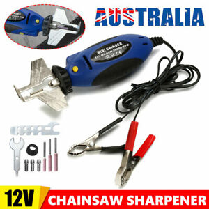 Chainsaw Sharpener 12V File Electric Quick Sharpening Chain Saw Teeth Grinding