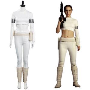 Star Wars Padme Amidala Cosplay Costume Outfit Halloween