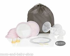 MEDELA DOUBLE BREAST PUMP KIT SHIELD TUBING VALVE CONNECTOR PUMP IN STYLE #87250