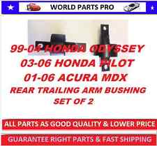 REAR TRAILING ARM BUSHING 99-04 ODYSSEY(FITS ACURA MDX-PILOT 01-06)set of 2