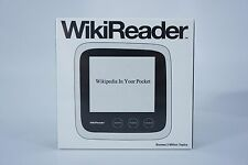 WikiReader by Pandigital (Wikipedia - Wiki Reader) BRAND NEW Factory Sealed