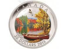 20 $ Dollar Autumn Bliss Herbstimpression Kanada 2013 1 Unze oz Silber PP