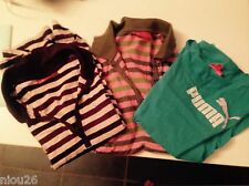 lot PUMA femme 3 t-shirt tee shirt polo taille XL