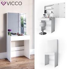 Vicco Table de maquillage Melle commode de coiffeuse miroir blanc