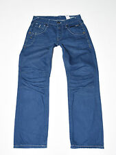"Blue Denim JACK&JONES Straight Leg Button Fly Casual Men's Jeans Size W30"" L28"""