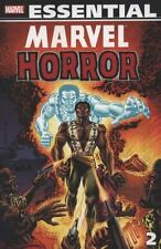 Marvel Essential Marvel Horror Vol. 2 by Val Mayerik (2008, Paperback)