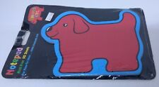 Red Dog Notepad 50 sheets Carson Dellosa teacher school vintage 1997