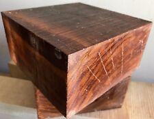 Olivewood Lathe Woodturning Bowl Blank 6x6x3 Cues Calls Knife Handles Reel Seats
