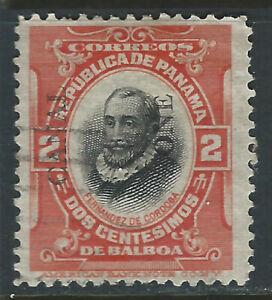 Bigjake: Canal Zone #47, 2 cent Cordoba with overprint - Type III