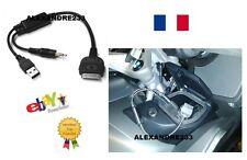 Cable adaptateur iphone ipod apple pour MOTO BMW K1600 R1200