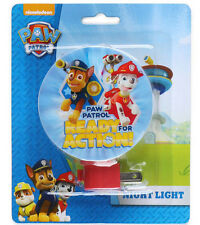 PAW PATROL Night Light New Chase & Marshall Ready for Action Kids Room Decor