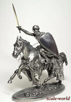 Tin soldier, miniature. The mounted knight 90mm