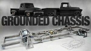 TCI LOWRIDER 1948-1952 Ford F-1 Pickup  Air Ride Chassis, Wilwood Brakes @