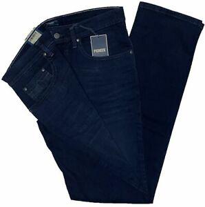Pioneer Rando Herren Jeans Stretch Denim  Dunkelblau 1674-9714-447