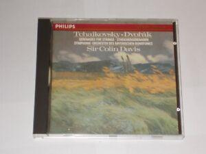 Tchaikovsky-Dvorak Serenades For Strings Sir Colin Davis  Philips CD 1988.