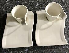 Villeroy  Boch New Wave Caffe Mug and Plate NewSET OF 2