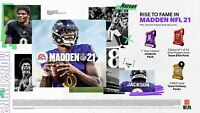 Madden 21 Pre-Order Bonus Ultimate Team Code PLAYSTATION 4 PS4 (USA REGION) DLC