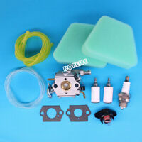 Carburetor For Craftsman 18'' 42cc Chainsaw Walbro Air Fuel Filter Tune Up Kit
