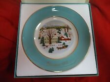 Avon Christmas Plate, 1973, First Edition #858