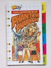 Fun Fax Book Puzzle Adventure PHANTOM PHARAOH Mystery Solving/Suspense
