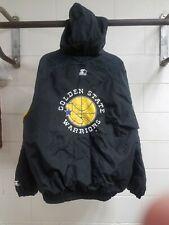 Vintage 90s Golden State Warriors Starter Jacket XL Zippered (See Description)