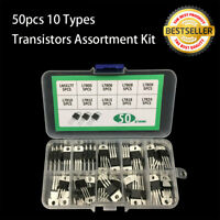 50x 10-Value Voltage Regulator Transistor Assortment Kit TO-220