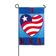 I Love the USA Flag!   Flag Only, No Pole.  MAKE AN OFFER!!!