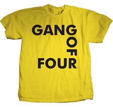 Gang Of Four-Classic Logo-X-Large Yellow T-shirt