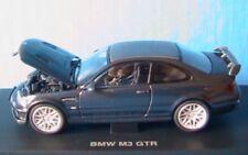 BMW M3 GTR STREET VERSION T-BLUE KYOSHO 03531TB 1/43 E46 BLAU BLUE BLEU
