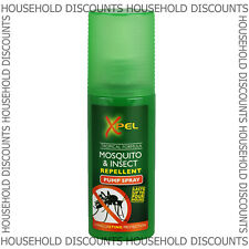 2x XPEL Mosquito Insect Fly Bite Repellent Tropical Formula Pump Spray 70ml