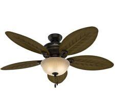 ✅ HUNTER Grand Cayman 54 in. Indoor, Outdoor Onyx Bengal Bronze Ceiling Fan