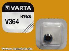 25 X Baterías Blíster original Varta V364 V 364 364 SW SR 621 bis 2019