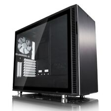 Fractal Design Define R6 Black TG Mid Tower Gaming Case - Black USB 3.0