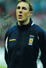 Signed Malky Mackay Scotland Autograph Photo Celtic Norwich Watford