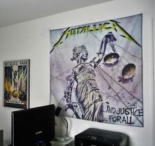 METALLICA And Justice For All HUGE 4X4 BANNER poster tapestry cd album cover