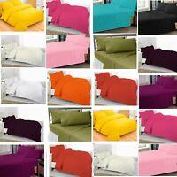 FLAT SHEET New Luxury Plain Dyed FLAT SHEET Poly cotton