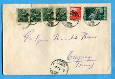 1947 AVV.REPUBBLICA £.3 + DEM.£.3 + £.1 x 4 ann.TORINO, 07.01.48   (233965)